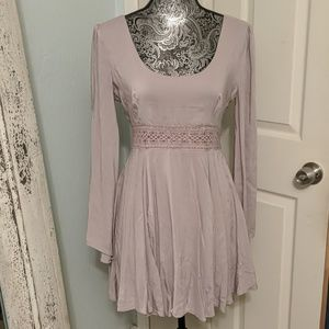 Kimchi Blue Urban Outfitters lavender dress